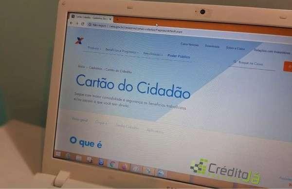 cartão cidadão online