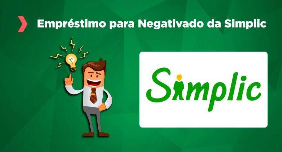 emprestimo para negativado da simplic Onde Conseguir um Empréstimo para Negativado Online? Opção Nº 1