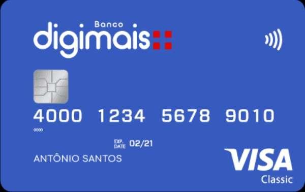 Cartão de credito Digimais 4 Cartões de Crédito de Fácil APROVAÇÃO