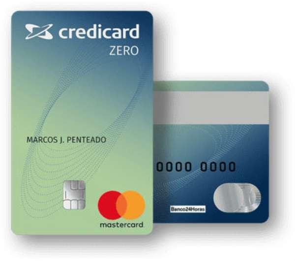 credicard zero - 4 Cartões de Crédito de Fácil APROVAÇÃO
