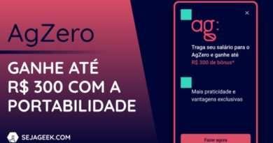 Nova conta AgZero oferece cartão de crédito zero anuidade e empréstimo pessoal