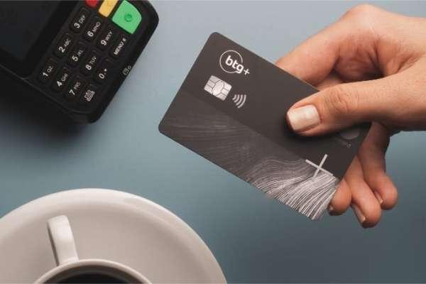 Banco digital btg+:Cartão de credito Black