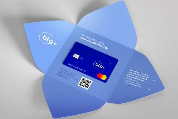 Banco digital btg+Cartão de credito Gold