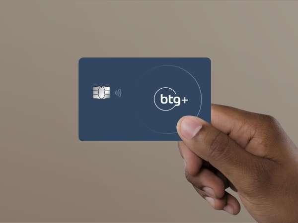 Banco digital btg+:Cartão de credito Platinum