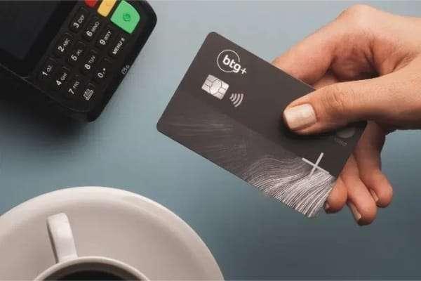 Cartão de credito BTG+ black