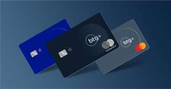 Cartão de credito da conta digital BTG+