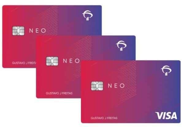 Cartões adicionais do cartão de credito bradesco neo