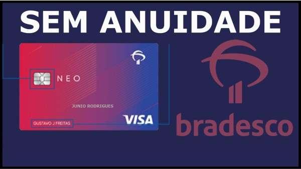 NOVO CARTÃO DE CRÉDITO BRADESCO NEO APROVANDO EM MASSA